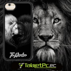 Case Estuche parejas leones